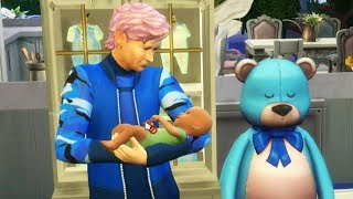Grandparents and Baby ! Fairy Fantasy SIMS 4 Game Let's Play  Video Part 19