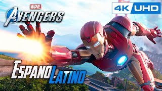MARVEL'S AVENGERS Español Latino 4K PS4 PRO | Gameplay Español Marvel Avengers