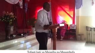 Tofauti kati ya majaribu na Masumbufu - Dunstun Haule Maboya