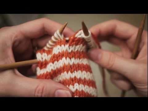 Jogless Color Change in circular knitting. videominecraft.ru