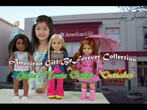 American Girl BeForever Collection| Elsa Reviews Julie's Tunic Outfit