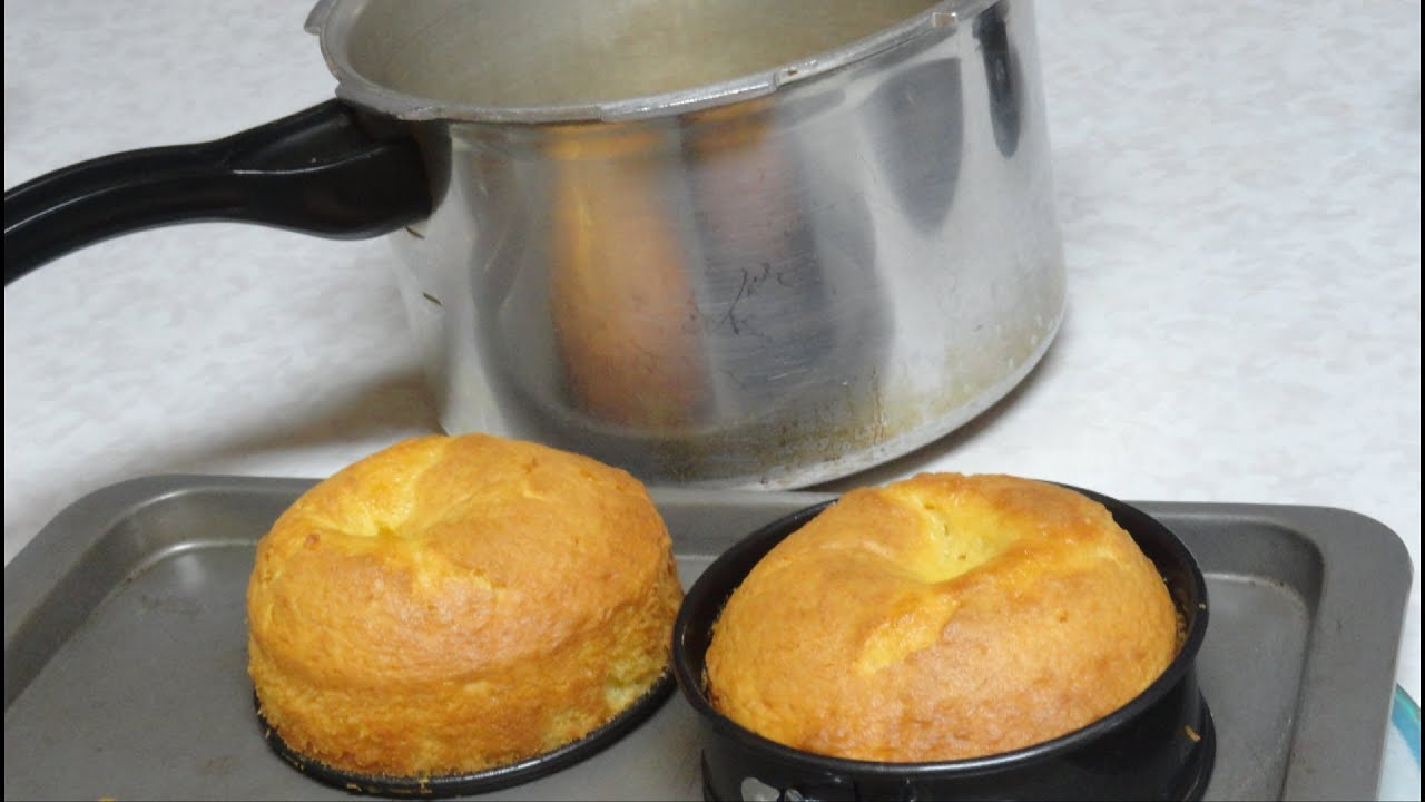 How to bake Cake in Pressure Cooker Video Recipe by Bhavna ...