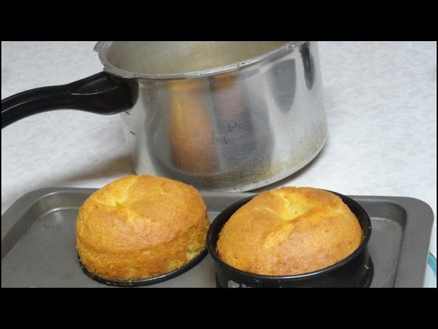Cake in Pressure Cooker Video Recipe by Bhavna