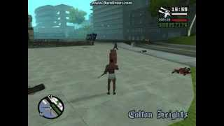 GTA SA Funny Gameplay Moded