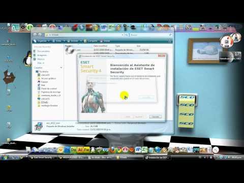 ESET SMART SECURITY 4 CON ACTIVADOR 100% FUNCIONAL