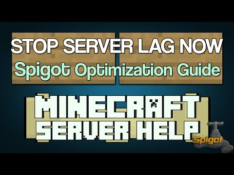 How to STOP Minecraft Server Lag with Spigot 1.12