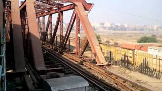 Kiul - Lakhisarai Rail Bridge @ 10 KMPH