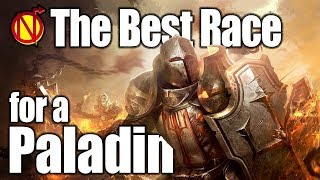 Dungeons and Dragons Paladin- Best Race in 5e D&D