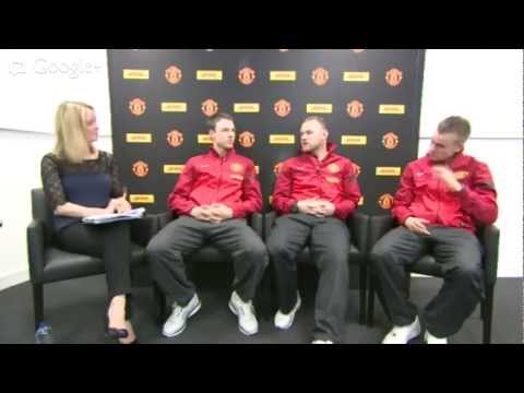 DHL Hangout with Man United