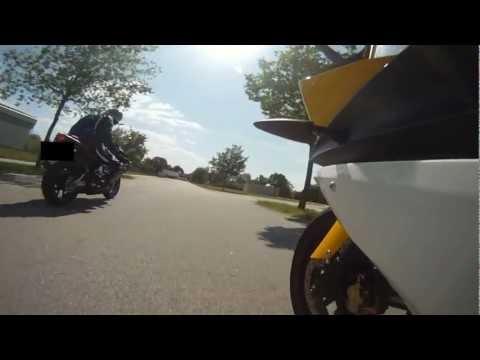 Aprilia rs 125 // Yamaha yzf r125 // Spaß am fahren // [GoPro] HD