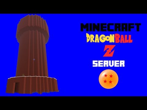 Let's Play Minecraft - DBZ Server - Episode 4 - Muscle Tower!