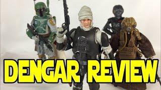 Star Wars The Black Series DENGAR | Action Figure Review