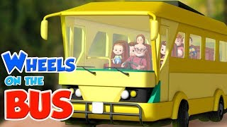 Wheels On The Bus | Baby Ronnie | Nursery Rhymes For Babies | Kids Songs | Cartoon For Children