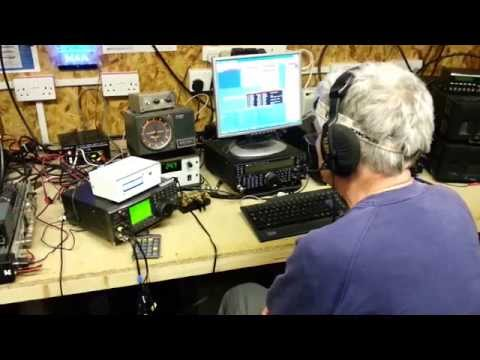 G3ZAY on a rage during the 70cm RSGB UKAC