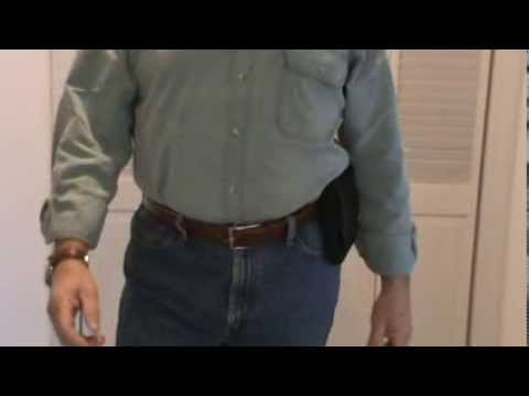 Sneaky Pete Holsters and Drawing a Sig P238