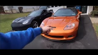 PREVIOUS OWNER GOES FOR RIDE IN 10 SECOND Z06 (He sold me the car stock!)