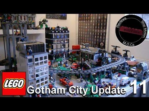 Custom Lego Gotham city Update 11