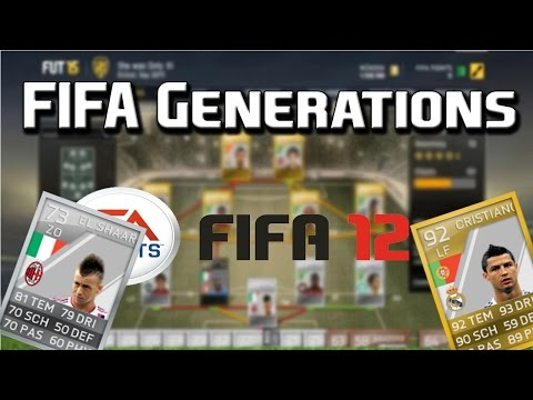 FIFA GENERATIONS  Mein FIFA 12 Ultimate Team ft. Ronaldo.El Sha92..