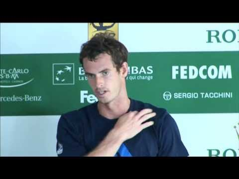 Murray Assesses Monte-Carlo Loss To Wawrinka