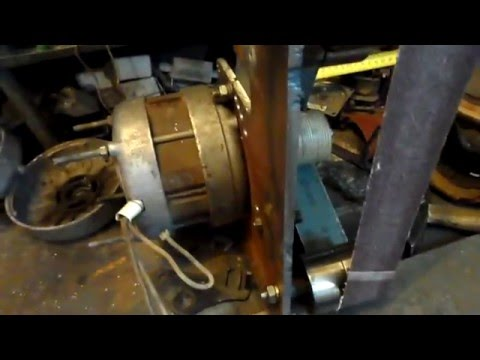 Гриндер с двигателем от стиральной машины своими руками 75