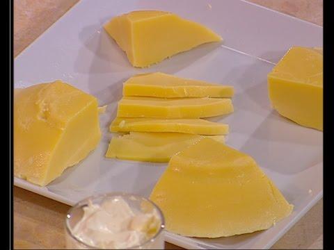 طريقة عمل الجبنه الشيدر على طريقة الشيف #هاله_فهمي من برنامج #البلدى_يوكل #فوود