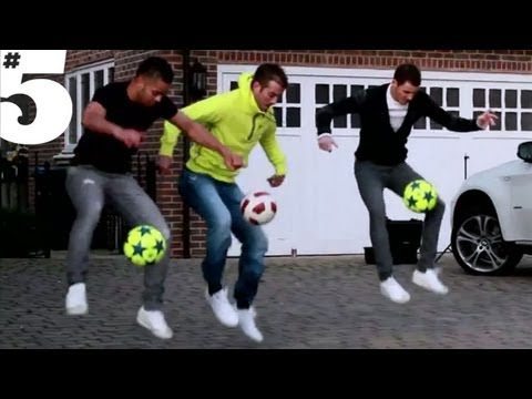 Rafael Van Der Vaart Freestyle Skills | #5 Players Lounge
