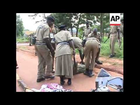 Anti-govt, anti-CHOGM protesters clash with police in Kampala