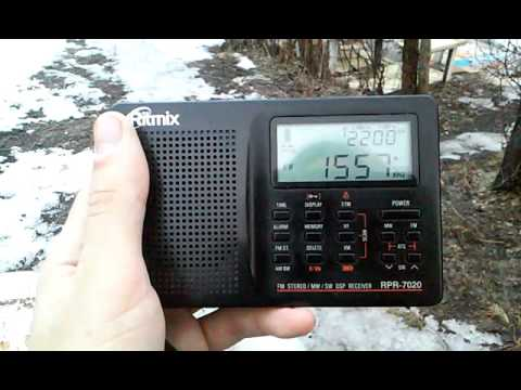 1557 kHz Radio Taiwan International on Ritmix RPR-7020