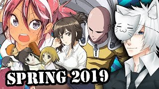 Spring 2019 Anime Season: What Will I Be Watching?
