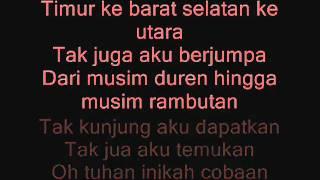 Wali Band - Cari Jodoh Dengan Lirik By Putrianggun