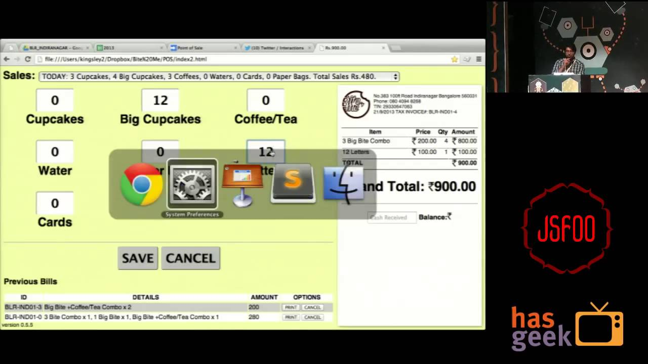 Sales Distribution System Point-of-sale System Using