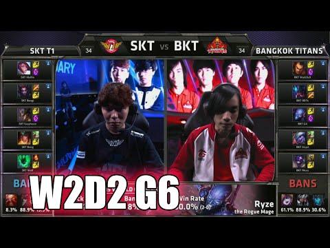 SK Telecom T1 vs Bangkok Titans | Week 2 Day 2 Group C LoL S5 World Championship 2015 | SKT vs BKT