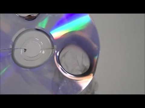 CDで風船をつくる