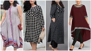 New 50+ Plus Size Long Kurties Designs /Plus Size Shirts