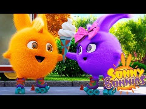 Cartoons for Children   SUNNY BUNNIES - ICE CREAM SKATING   Funny Cartoons For Children