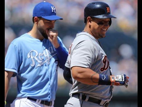 Detroit Tigers Kansas City Royals battle for American League Central Division