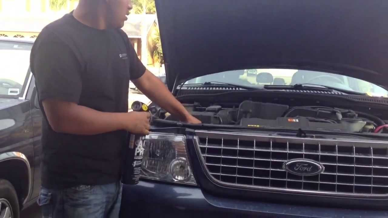 Diy Recharge You A C On Your Car Ford Explorer Youtube