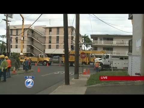 Power outage reported in Waipahu