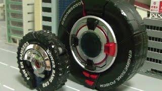 đồ chơi siêu nhân Cơ Động Power Rangers RPM Tire Robot Toys 파워레인저 엔진포스 장난감