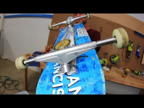 THE WIDEST SKATEBOARD TRUCKS EVER?!