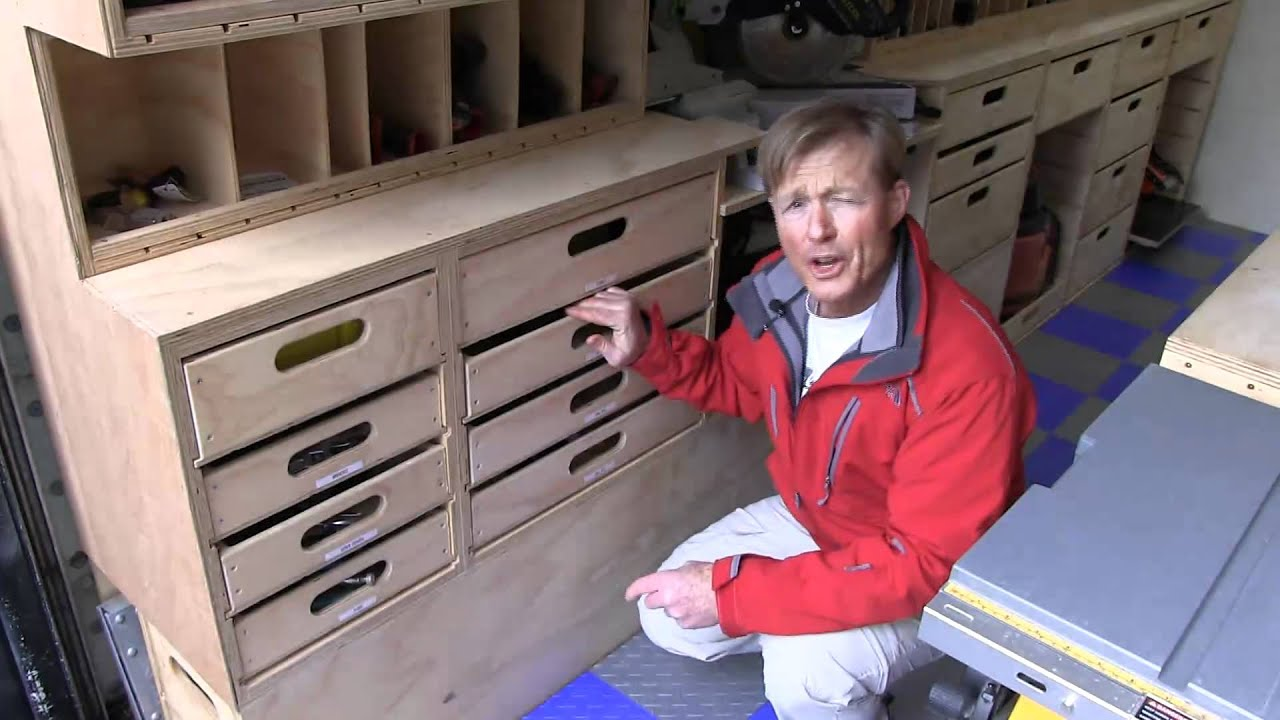 Ron Paulk's Mobile Wood Shop - YouTube