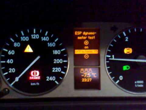 warning lights on mercedes atego