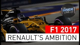 F1 2017 NEWS - RENAULT SPORT: 2018'S DARK HORSE [THE INSIDE LINE TV SHOW]