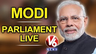 PM Modi Speaks On Motion Of Thanks On Presidentand#39;s Address LIVE | Parliament Session