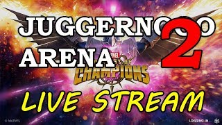 Juggernaut Arena - Part 2 | Marvel Contest of Champions Live Stream