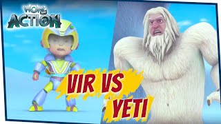 VIR: The Robot Boy Cartoon in Hindi - EP72B  | Full Episode | Cartoons for Kids | Wow Kidz Action