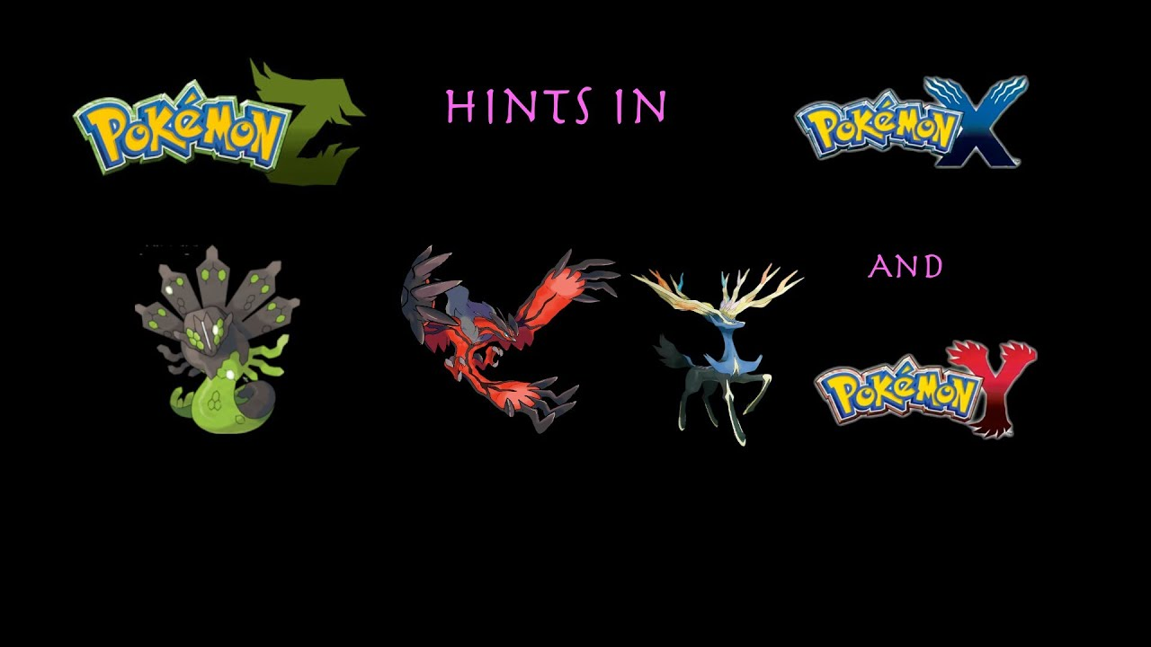 Spoiler Pokemon Z Hints In X And Y Youtube