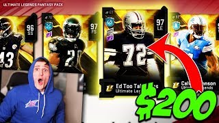 *INSANE* $200 Ultimate Legend Pack Opening... - Madden 20 Ultimate Team
