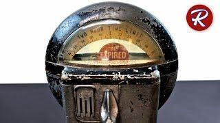 1960s Duncan Parking Meter Restoration