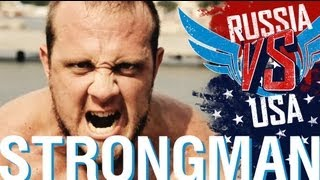 Russia vs USA Strongman Event